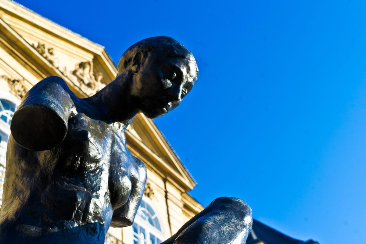 Musée Rodin extérieur Women's Art Tours