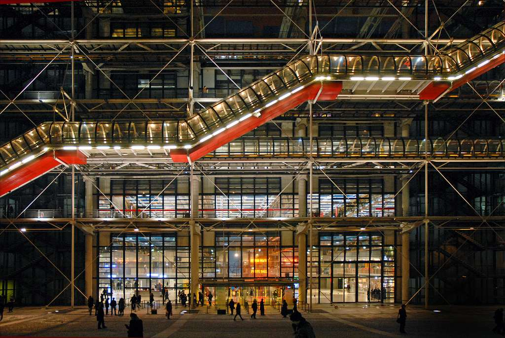 Avant-garde reframed in the Pompidou Centre