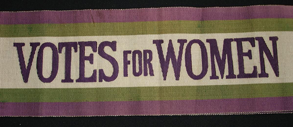 Women's Social and Political Union banner