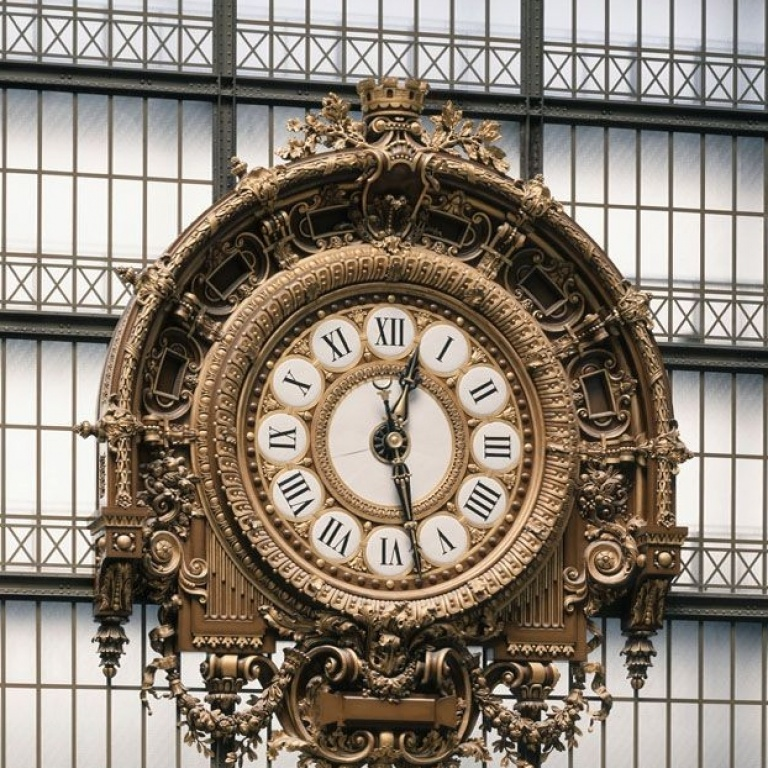 Horloge Musée d'Orsay Women's Art Tours