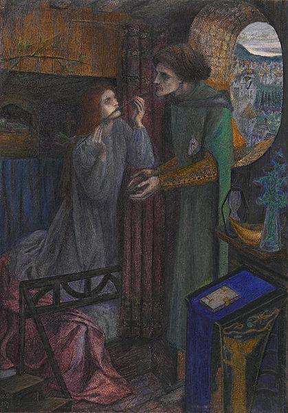 Elizabeth Siddal, Clerk Saunders, 1857