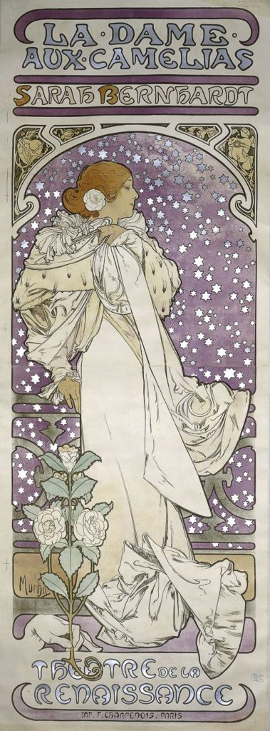 Alphonse Mucha, Sarah Bernhardt