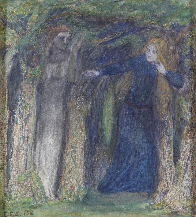 Elizabeth Siddal Haunted Wood, Wightwick Manor and Gardens