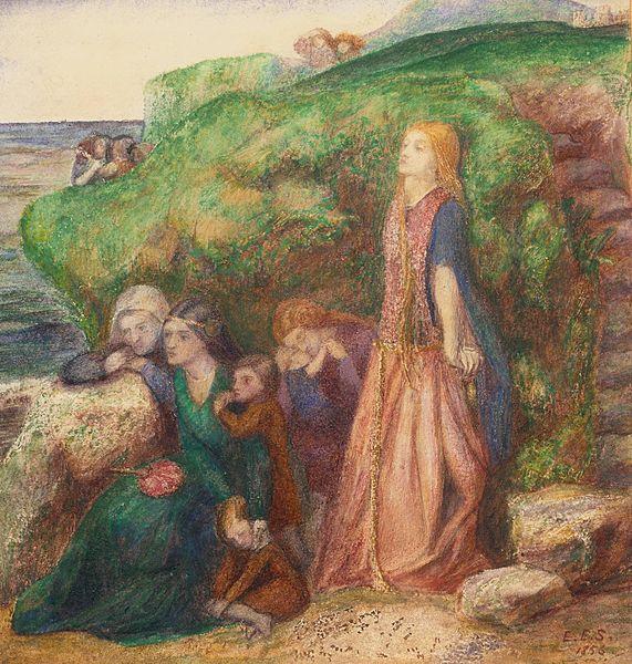 Elizabeth Siddal, La Complainte des dames, 1856 Tate Britain, Londres