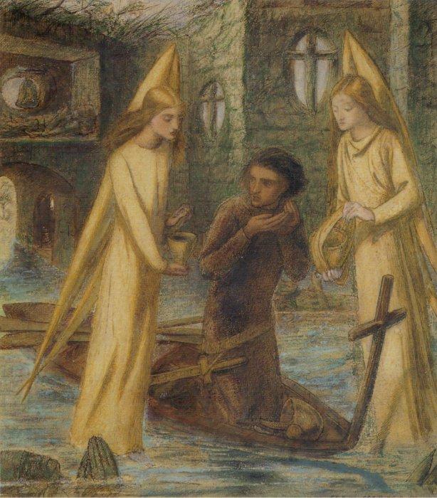 Elizabeth Siddal, The Holy Grail, 1855