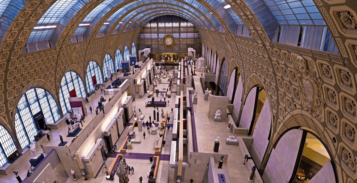 Musée d'Orsay vue intérieur Women's Art Tours