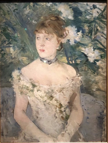 Berthe Morisot, Young Girl in a Ball Gown, 1879 Oil on canvas, 71 x 54 cm Musée d'Orsay, Paris